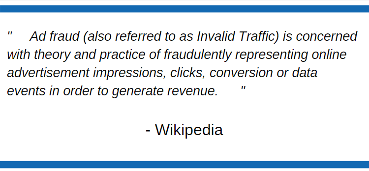 Ad Fraud Definition - Ad Fraud - Click Injection
